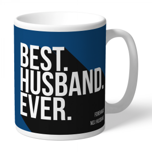 Cardiff City Best Husband Ever Mug