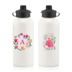 Disney Princess Aurora Initial Water Bottle